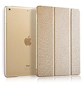 iPad Mini Case / iPad Mini Retina / iPad Mini 3/2/1 Case Folio Case Stand Case Smart Cover (Golden) by FIRIK