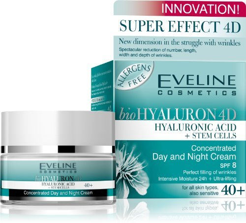 BioHyaluron Concentrated Face Day And Night Cream 40+ For All Skin Types Also Sensitive 50 Ml