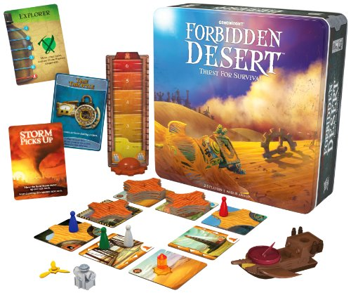 Forbidden Desert Board Game Picture