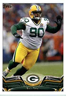 2013 Topps Football Card #218 B.J. Raji - Green Bay Packers - NFL Trading Cards