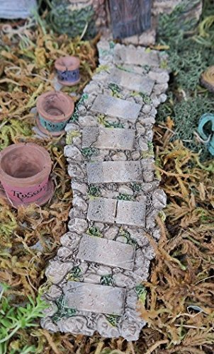 Miniature / Fairy Garden Resin Faux Stone Walkway/Path by Everything Fairy