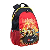 LEGO City Fire Bricks on Fire Heritage Backpack & Vertical Lunch Bag
