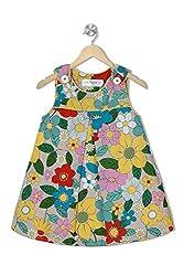Soulfairy Girls' Dress (SS16-DRSFRL-003_Yellow_2-3 Years)