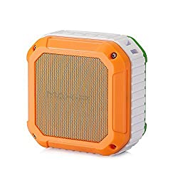 MAX Pi OUTDOOR AND SHOWER BLUETOOTH SPEAKER Independence Day Special with CSR 4.0,NFC,WATERPROOF / SHOCKPROOF TRICOLOR with Rechargeable Battery and Excellent Bass.