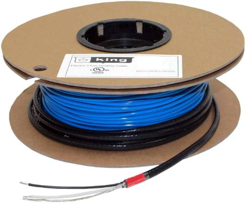 King Fc12120 120V 120W 40-Feet Floor Heating Cable