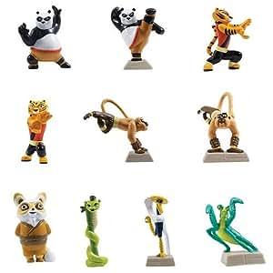 kung fu panda figurine toys games. Black Bedroom Furniture Sets. Home Design Ideas