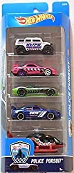 Hot Wheels, 2016 Police Pursuit 5 Pack