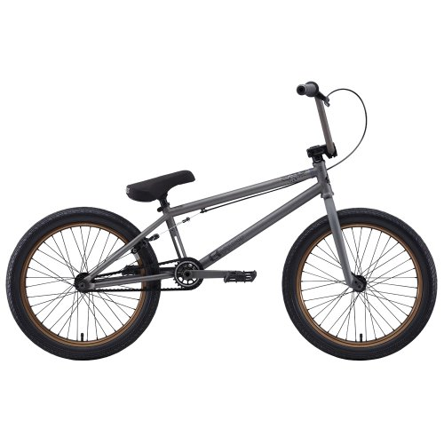 Eastern Bikes Boss 2013 Edition BMX Bike (Matte Phosphate/Bronze Rim, 20-Inch)