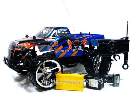 RC-Auto-Hammer-Jeep-Monster-Truck-Offroader-110-ferngesteuert-komplett-Set