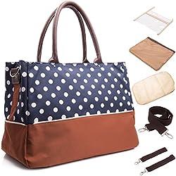 BAYTTER® Multifunktionale Baby Pflegetasche 40 x 18 x 29cm