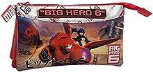 Comprar Disney Big Hero 6 Estuche de Tres Compartimentos, Color Rojo