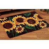 Craftways Stately Sunflowers Latch Hook Kit