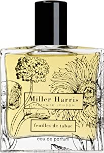 FEUILLES DE TABAC by Miller Harris EAU DE PARFUM SPRAY 3.4 OZ