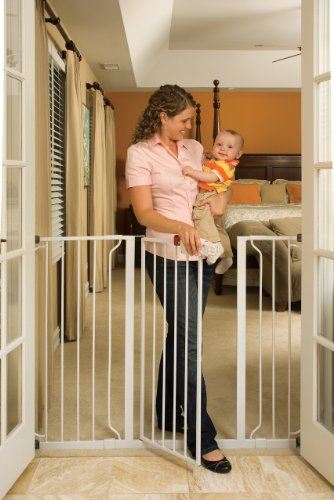 Regalo Extra Tall Widespan Gate, White