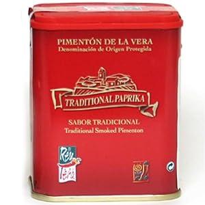 Artisan Spanish smoked paprika, Traditional Pimenton from La Vera region.