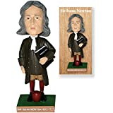 "Isaac Newton Science Principe 7"" Bobble Head in Collector's Box"