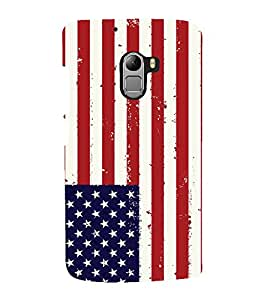 printtech Country Flag Back Case Cover for Lenovo K4