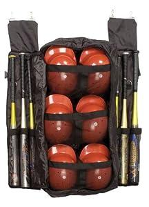 Champion Sports Combination Bat and Helmet Fence Bag