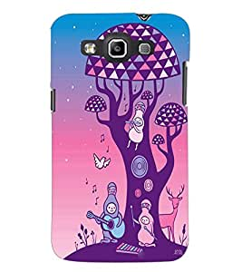 PrintDhaba Cartoon D-2965 Back Case Cover for SAMSUNG GALAXY WIN i8552 (Multi-Coloured)