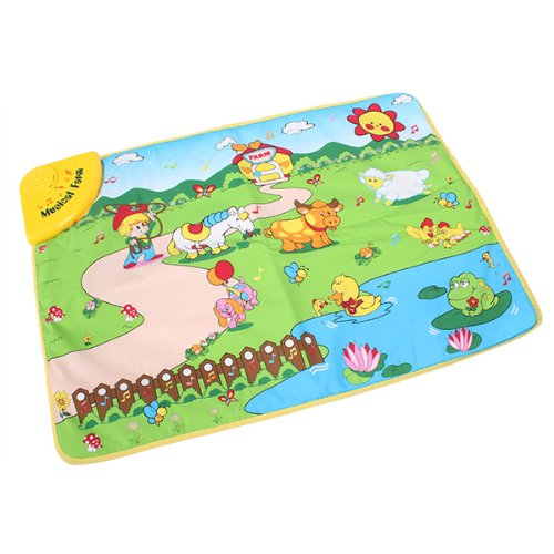 Farm Musical Music Touch Toy Play Game Carpet Mat Blanket Kid Baby front-514402