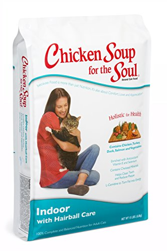 Chicken Soup for the Soul Indoor with Hairball Care Cat 15lb (Chicken Soup Cat compare prices)