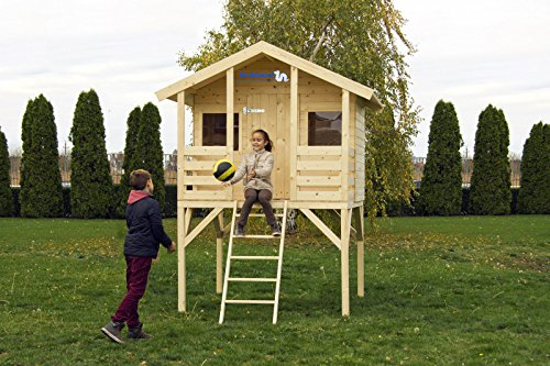 stelzenhaus f r kinder spielh user aus holz f r den garten. Black Bedroom Furniture Sets. Home Design Ideas