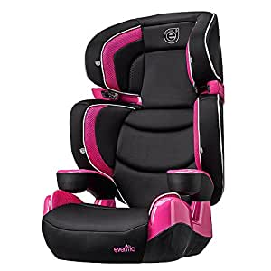 evenflo rightfit booster car seat solaris baby. Black Bedroom Furniture Sets. Home Design Ideas