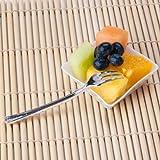 Elegant Petite Mini Tasting Appetizer Forks (Pack of 100)