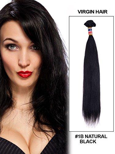 Tomorrow Lover 6A Brazilian Virgin Hair Straight 4pcs Lot 50g/pc Human Hair Extensions (28*28*30*30)