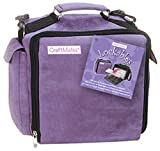 Craft Mates Lockables Ultrasuede Organizer Case, Purple