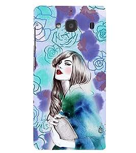 PRINTSWAG BEAUTIFUL GIRL Designer Back Cover Case for XIAOMI REDMI 2 PRIME
