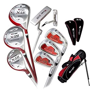 Cougar Golf Ladies X-Cat Tour III Complete Golf Set w/ Bag
