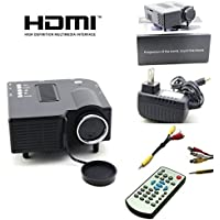 UC 28+ Mini Portable Multimedia Projector Connect with HDMI/VGA/AV/USB/SD