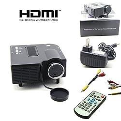 UC 28+ Mini Portable Multimedia Projector Connect with HDMI/VGA/AV/USB/SD