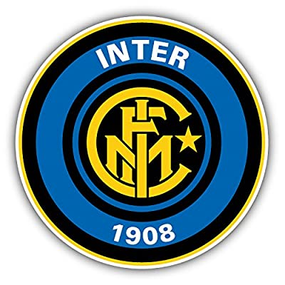 Inter Milan Soccer Football Vinyl Sticker 5 X 5 inches
