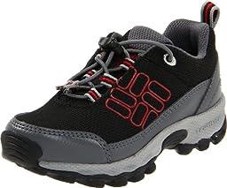 Columbia BV3192 Lonerock A/C Hiking Boot (Toddler/Little Kid),Black/Intense Red,4 M US Toddler