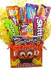 "Junk Food ""Junkie"" Gift Basket (Small…"