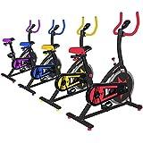 Cyclette Per Allenamento Aerobico Fitness Cardio (Gialla)