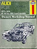 1973-1974 Haynes Repair Manual - Audi Fox