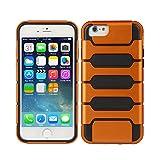 TeckNet® New Apple iPhone 6 Plus Protective Tough Armor Case For Apple iPhone 6 Plus, 5.5 inch, Sep 2014 Release - Orange