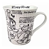 Disney Mickey Mouse Sketch Book 11oz. Ceramic Mug