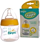 Pampers Natural Stages Bottle,5 oz, Stage 1 Newborn 0M+