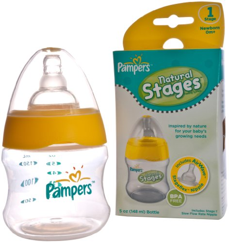 Pampers Airwave Venting System, Stage 1, 5 Ounces, Clear, Single Pack - 1