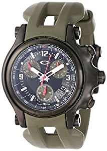Oakley Men's 10-281 Holeshot 10th Mountain Division Unobtainium Limited Edition Chronograph Watch