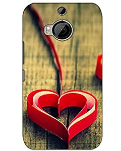 MobileGabbar HTC One M9 Plus Back Cover Designer Hard Case