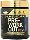Optimum Nutrition Gold Standard Pre-Workout 30 Serve Supplement, Blueberry Lemonade, 300 Gram