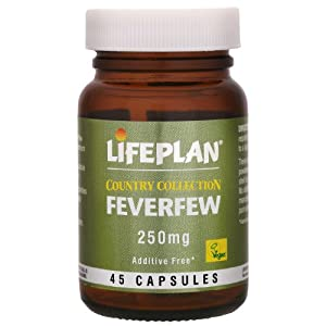 Lifeplan Feverfew Vegicaps 45 Capsules