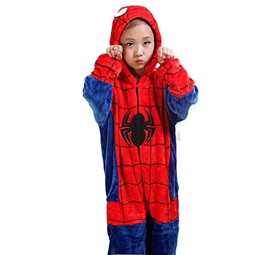Aurora Bridal Cosplay Animal Pajamas Halloween Christmas Costume Spider-man XL