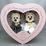 Amazon.co.jpディズニー ブライダル ミッキーマウス&ミニーマウス(NEWハートBOX) ぬいぐるみ 高さ17cm