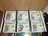 Mathematics: PreAlgebra, Algebra 1, Algebra 2, Geometry and Trigonometry (Comprehensive 5 CD ROM Box Set - Pro One